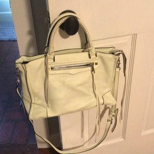 Rebecca Minkoff Regan satchel bag with wallet!